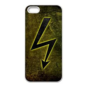electricity sign iPhone 5 5s Cell Phone Case White xlb2-371157