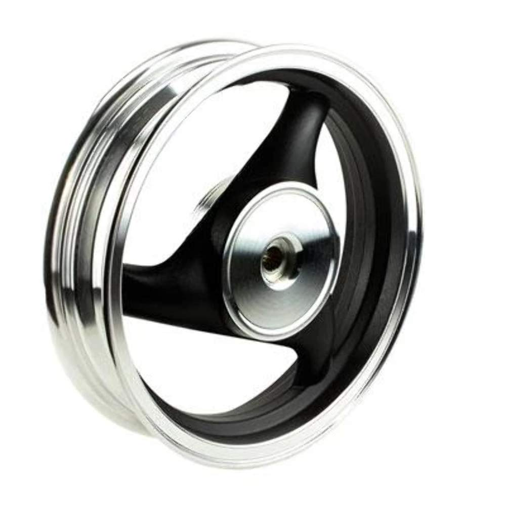 12'' Rear Rim (2.50x12) - 19 Spline for Tao Tao Thunder 50 EVO 50 Scooter Moped by VMC CHINESE PARTS by Generic