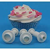 PME Plunger Cutters, Miniature Round, 3-Pack