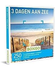 Bongo Bon - 3 Dagen Aan Zee   Cadeaubonnen Cadeaukaart cadeau voor man of vrouw   250 hotels aan de kust