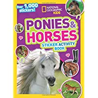 Ponies and Horses Sticker Activity Book: Over 1,000 stickers! (NG Sticker Activity Books)