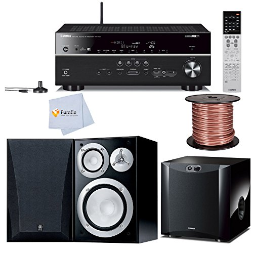 Yamaha RX V677 72 Channel Wi Fi Network AV Receiver With AirPlay