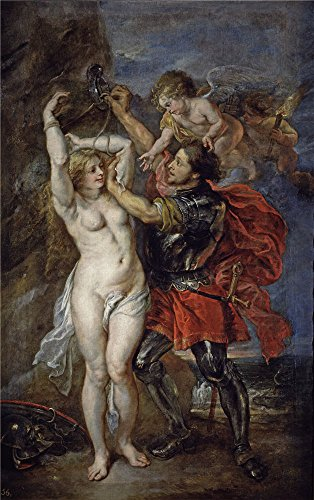 [Oil Painting 'Rubens Peter Paul Jordaens Jacob Perseo Liberando A Andromeda 1639 41', 10 x 16 inch / 25 x 40 cm , on High Definition HD canvas prints, Basement, Home Theater And Powder Room] (Costumes Halloween Yahoo)