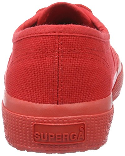 Rot red Superga Cotu Low Mixte Classic gold Adulte 2750 Sneaker top a8Rw4xZqa