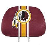 NFL Washington Redskins Full-Print Head Rest Covers, 2-Pack