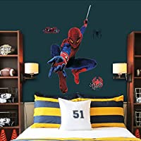 Pesp® Spiderman Wall Stickers Decal for Children Kids Room