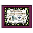 CVC Words - Short A - QR Code Task Cards & Response Sheets