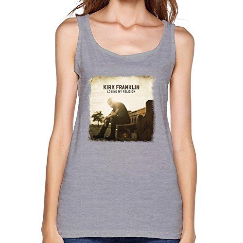 SAJOPH Women's Kirk Franklin Losing My Religion Tank Tops Size L Light - Watch Night Falls Before