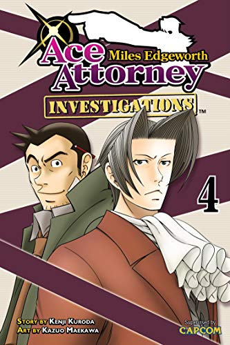 Miles Edgeworth: Ace Attorney Investigations 4 Paperback – January 29, 2013