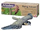 Defenders Flying Falcon Decoy (stooping Bird-of-prey Deterrent, 21 Inch (53 Cm)