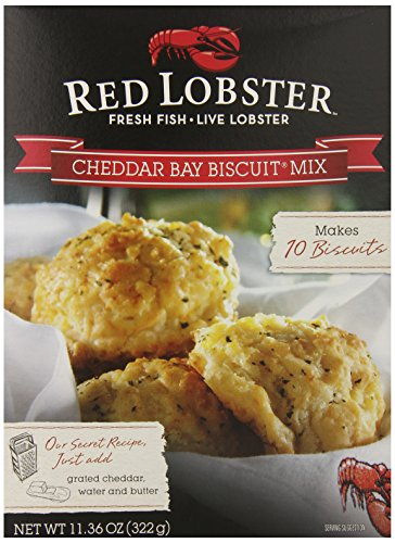 Red Lobster Cheddar Bay Biscuit Mix, 11.36-Ounce Boxes (Pack of - Biscuit Mix Cheese