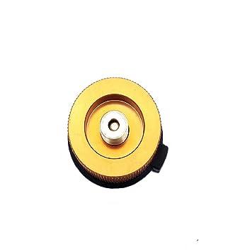 Vaycally Adaptador del Cilindro de Gas Conector del Horno Portátil ...