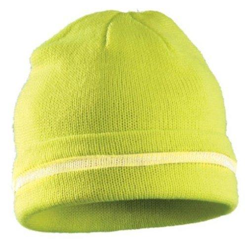 hi-vis-knit-cap-silver-reflective-stripe-one-size-yellow
