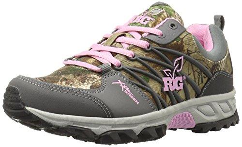 Realtree Girl Women's MS. Bobcat Hiking Shoe, Pink/Extra Green, 8.5 B(M) US