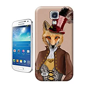 Unique Phone Case Vivienne Steampunk Fox Print Hard Cover for samsung galaxy s4 cases-buythecase