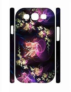 Design Cool Neon Flowers High Impact Samsung Galaxy S3 I9300 Phone Case WANGJING JINDA