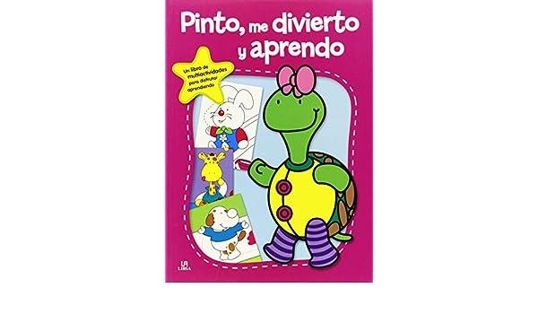 Pinto, me Divierto y Aprendo: Ediciones Winbook: 9788466229128: Amazon.com: Books