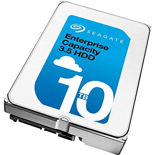 Seagate Enterprise Capacity ST10000NM0096 10TB 7200RPM SAS 12.0 GB/S 256MB Enterprise Hard Drive - Sas Hard Seagate Drives