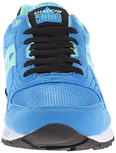 Originali Saucony Mens Shadow 5000 Classic Sneaker Retrò Blu / Nero Brillante