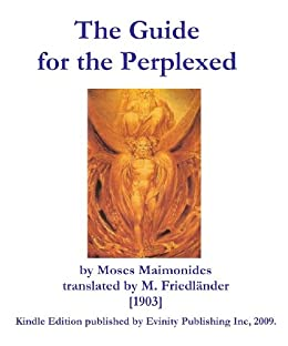 maimonides guide for the perplexed pdf