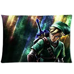 Brand New Legend Of Zelda Rectangle Pillow Cases 20x30 (one side) Comfortable For Lovers And Friends
