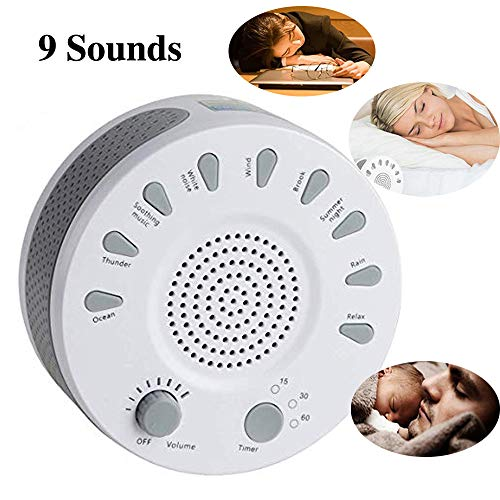 Pevor White Noise Machine Sleep Therapy Sound Machine Sleepi