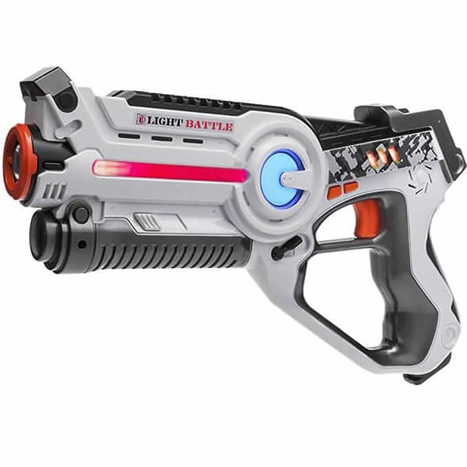 1 opinioni per Pistola giocattolo a infrarossi Light Battle Active per bambini- Colore: bianco-