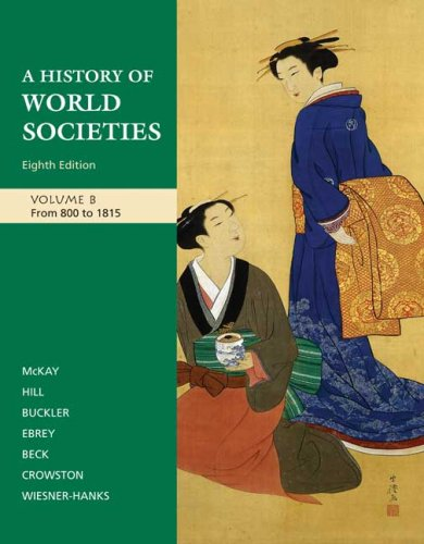 A History of World Societies, Vol. B: From 800 to 1815
