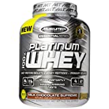 MuscleTech Essential Series 100% Platinum Whey Milk Chocolate Supreme - 5 lbs