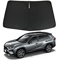D-Lumina RAV4 Windshield Sun Shade Compatible with Toyota RAV-4 2019 2020 2021 - Foldable Car SUV Front Window Sunshade…