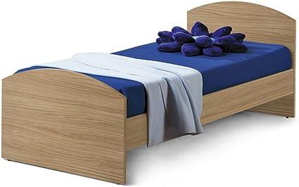 Tosend - Cama Eco para somier de 80 cm, Color Nogal Puro ...