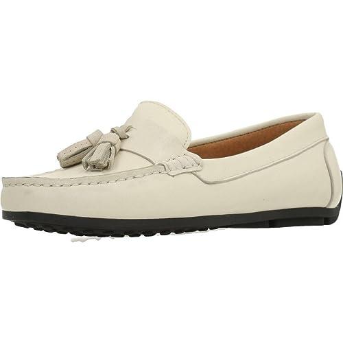 Mocasines para Mujer, Color Blanco, Marca SITGETANA, Modelo Mocasines para Mujer SITGETANA 254S Blanco: Amazon.es: Zapatos y complementos