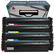 MyTripleBest (MTB) 4 Pack Remanufactured 201X 201A Toner Cartridges for HP 201X CF400X CF401A CF402A CF403A Toner Cartridge used with HP Color LaserJet Pro MFP M277dw M252dw M277n M252n M274n Printers