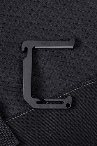Dango Loop Hook (Jet Black) - Heavy Duty Aluminum