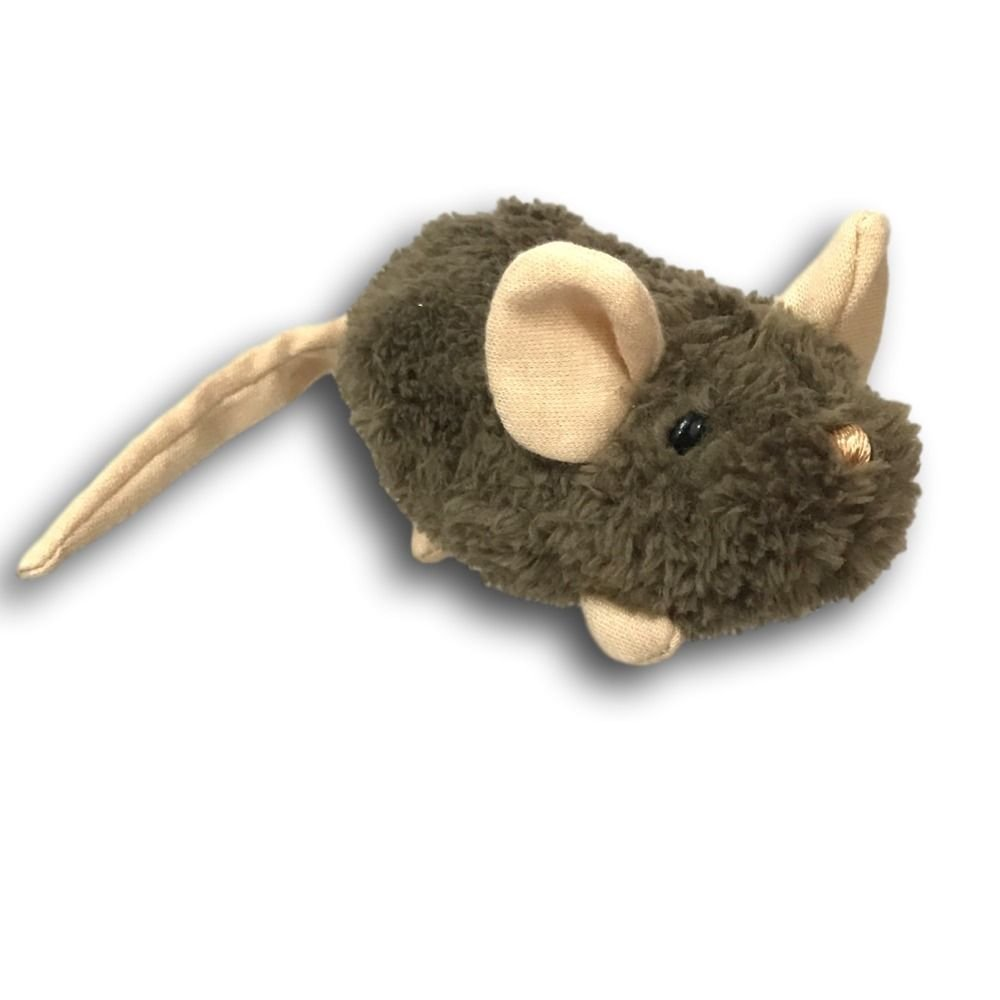 Gund Creepers Mice Zip Alongs 5 Brown