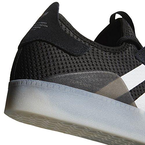 Adidas 3st.001 (core Sort / Hvid / Sølv Metallic) Mænds Skate Sko Kerne Sort / Hvid / Sølv Metallic hAv2KMO4r