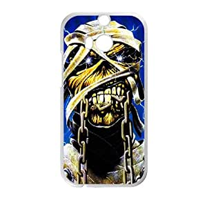 Iron Maiden HTC One M8 Cell Phone Case White SH6080873