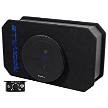 Rockville Rmw8a 8-Inch 800w Tunnel Slot Ported Powered Subwoofer Enclosure Class D-Set of 1