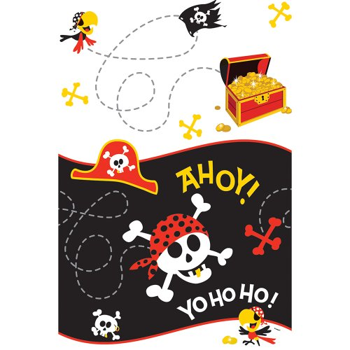 Pirate Party Plastic Tablecloth 84