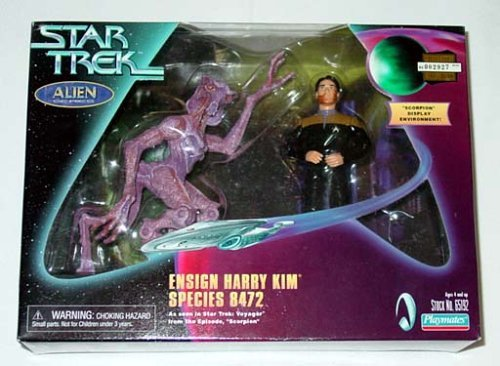Star Trek Alien Series Ensign Harry Kim Species 8472