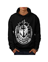 Lost At Sea Boat Ship Bother Me Men NEW Black S-5XL Hoodie | Wellcoda