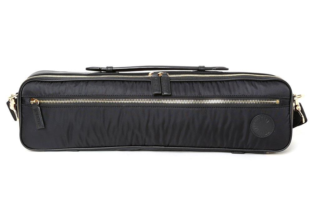 Curtis Flute Shiny Bag - Reflective Insulation (Black)