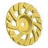 Richman789 7'' x 7/8''-5/8'' Grinding Cup Diamond Wheel Concrete Grinder Grit Cup Wheel 18 Segments