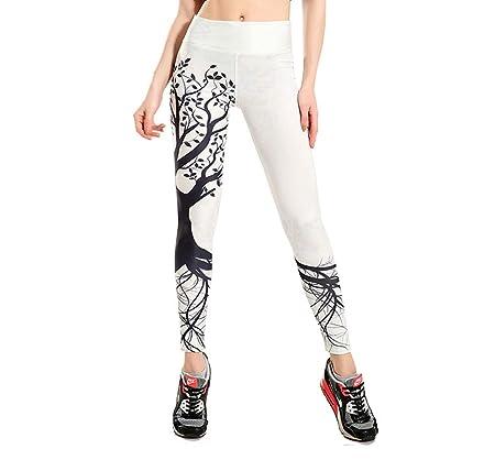LBFKJ Pantalones de Yoga de Las Mujeres, Dibujos Animados ...