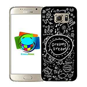 BRALEXX Funda para Samsung Galaxy S6Pizarra adhesiva 2