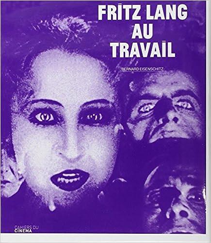Livre Fritz Lang au travail pdf