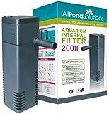 All Pond Solutions 200IFAquarium Internal Filter, 200 Litre/ Hour