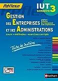 Gestion des Entreprises et des Administrations - S3 - Option GMO - Toutes les matières