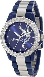 Ed Hardy Women's VX-BL Vixen Blue Watch