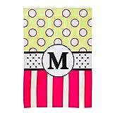 Baskerville Peppy Monogram M House Flag